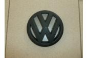Эмблема VW черная  мат.